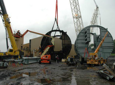 Arkansas Power Plant Rotary Coal Dumper Replacement