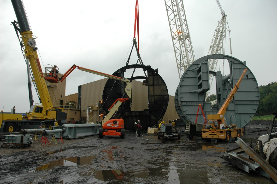 Containment Solutions Plant Relocation