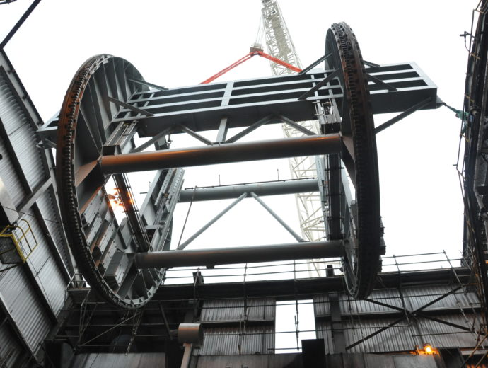 Arkansas Power Plant Coal Dumper Replacements