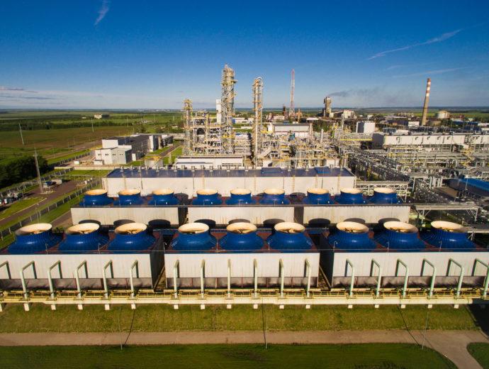 Pryor Chemical Company Ammonia Plant Disassembly